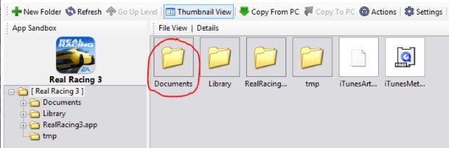 real racing 3 save file