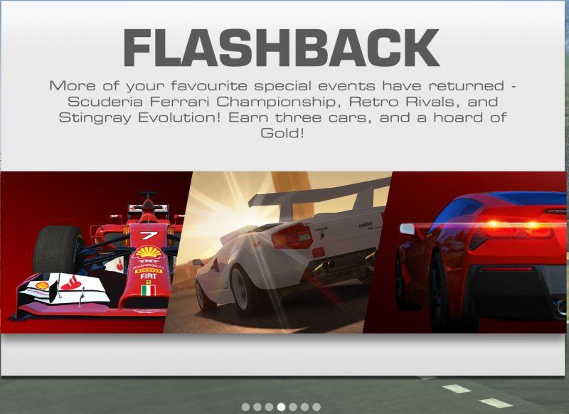 Flashback Events , RR3 v. 5.3