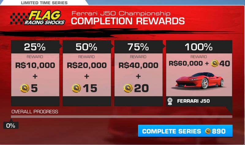 Ferrari J50 Championship | MyRealRacing.club (MRR) on