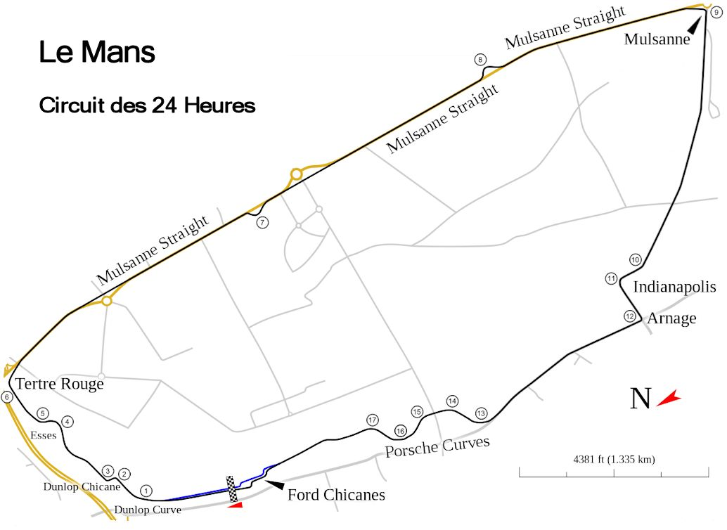 Le Mans 24 Heures Evening Myrealracing Club Mrr