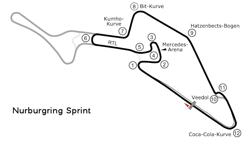 Nurburgring - Sprint (dawn) | MyRealRacing club (MRR)